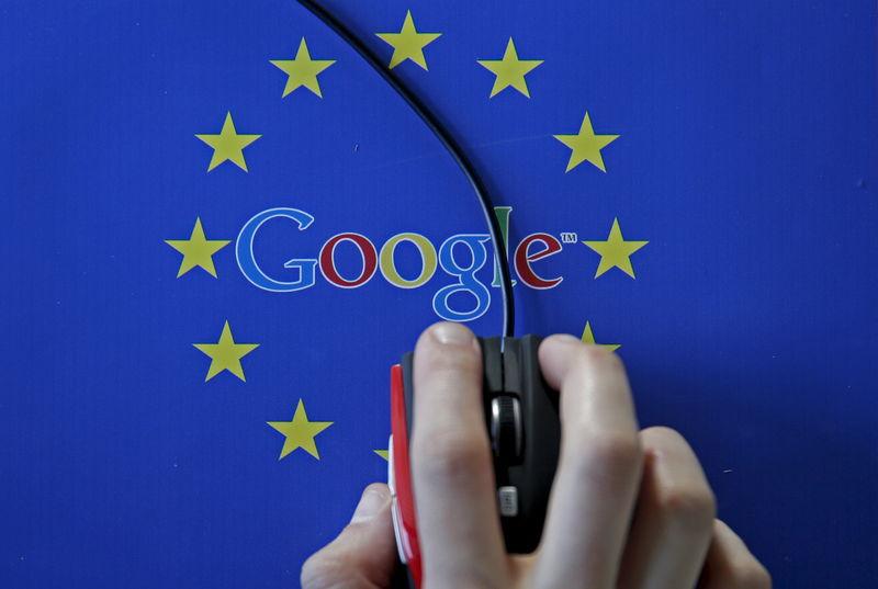 © Reuters.  New EU plan to tax digital giants