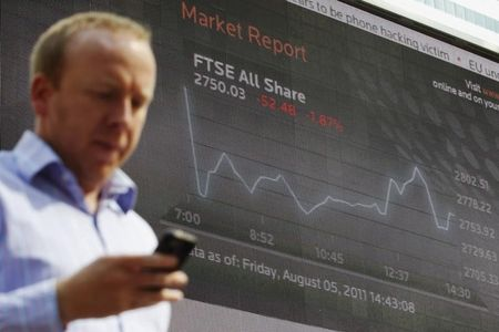 U.K. shares higher at close of trade; Investing.com United Kingdom 100 up 0.17%
