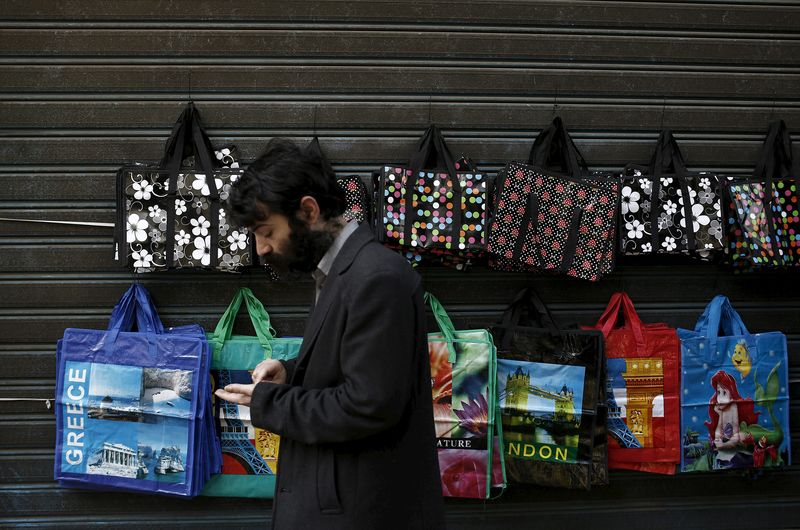 © Reuters.  Στα 823 εκατ. ευρώ το πλεόνασμα κρατικού προϋπολογισμού τον δίμηνο Ιαν.-Φεβρ.