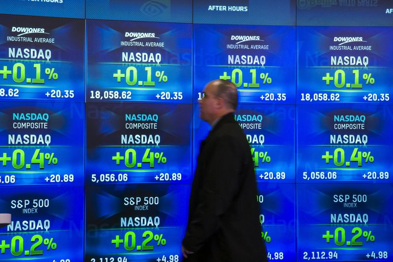 U.S. shares mixed at close of trade; Dow Jones Industrial Average down 0.40%