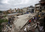 UPDATE 2-Buildings collapse in Delhi killing at least 3, more feared dead