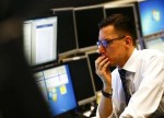 US STOCKS-Wall Street slips on weak GDP data, but indexes rise in April