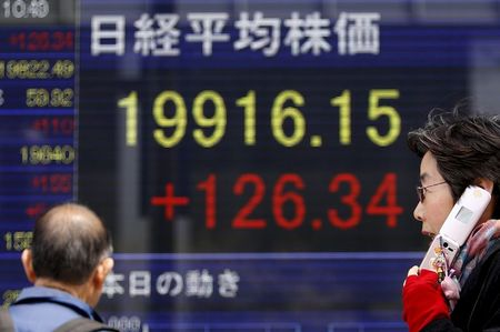 Tokyo's Nikkei share average opens up 0.01 pct
