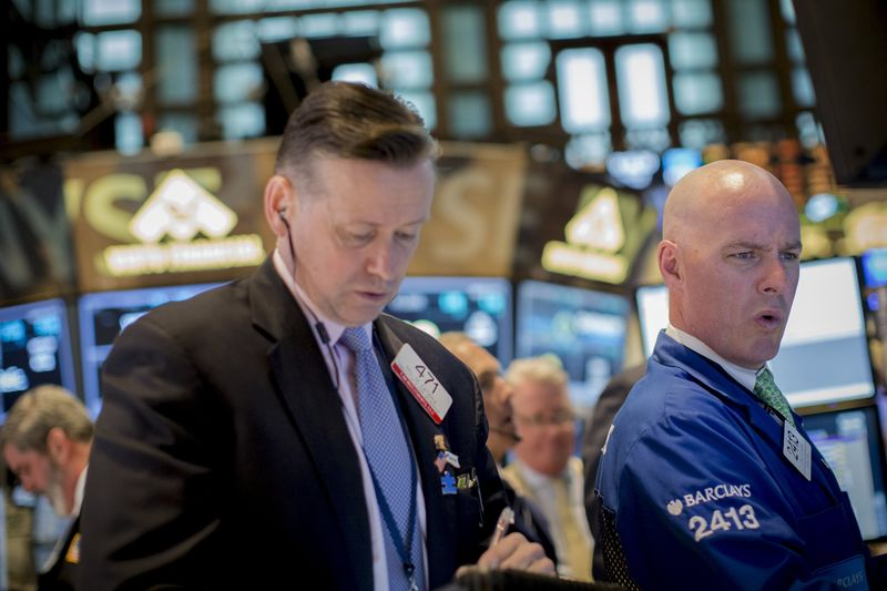 S&P, Dow Ease From Record Highs as Energy, Financials Slip By Investing.com