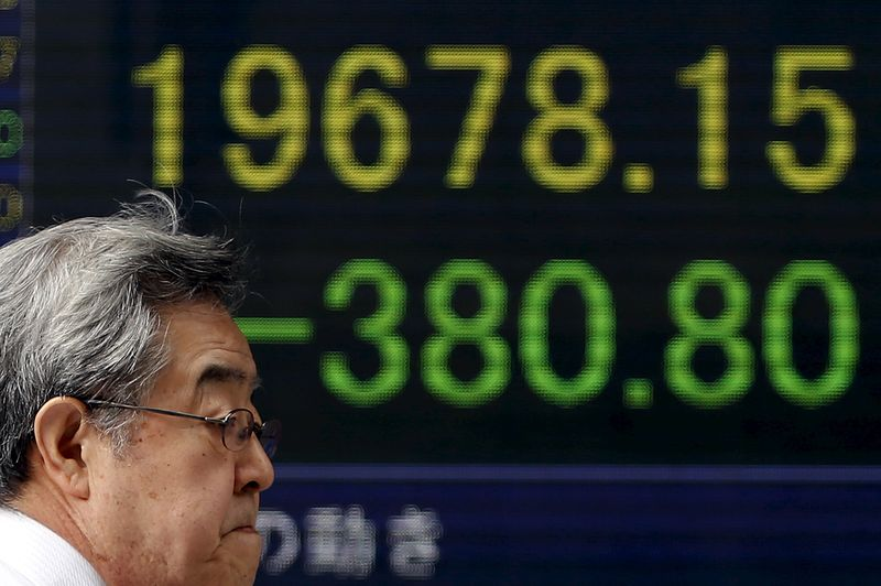 Asian Markets Fall Following Wall Street Losses