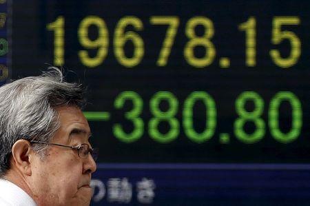 Pasaran Asia bercampur pada penutup; Nikkei turun 0.84%