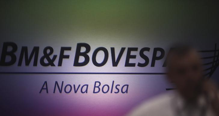 © Reuters.  Brasilien Aktien waren höher zum Handelsschluss; Bovespa kletterte um 1,69%