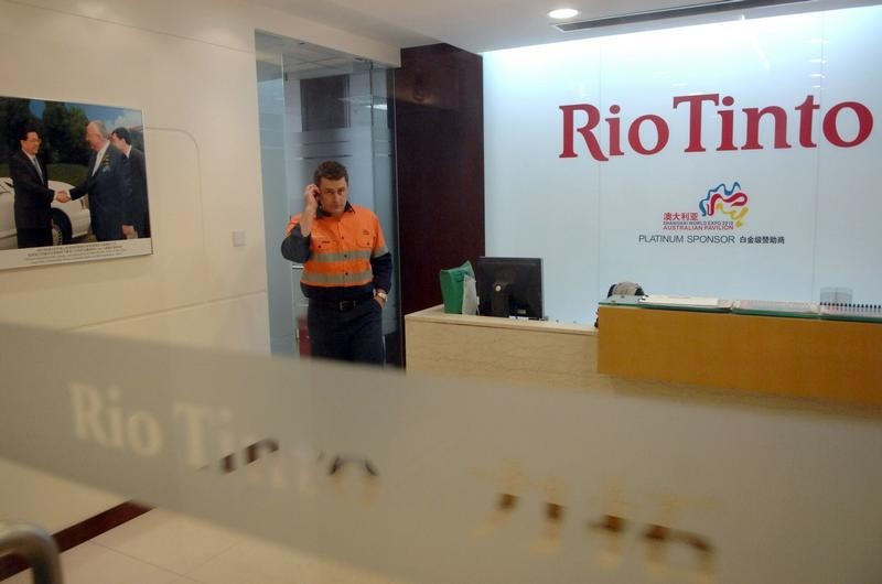 © Reuters.  FT: Rio Tinto in talks to sell Australia, New Zealand aluminum assets