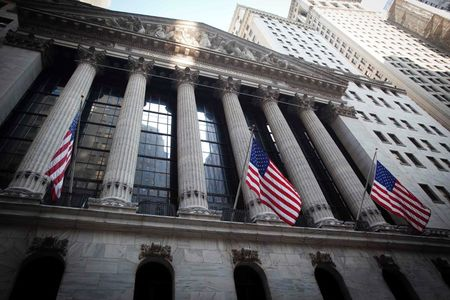 U.S. shares mixed at close of trade; Dow Jones Industrial Average down 0.58%