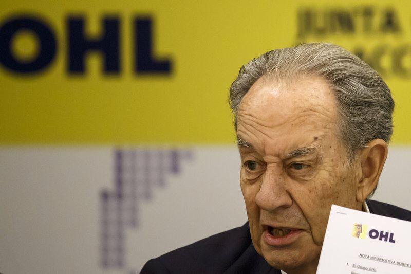 © Reuters.  Villar Mir reconoce 'contactos preliminares' y OHL rebota un 7%