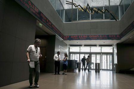 Grécia - Ações fecharam o pregão em queda e o Índice Athens General Composite recuou 0,64%