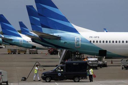 Jumlah Penumpang Garuda Indonesia Tetap Rendah Kendati Pembatasan Dilonggarkan