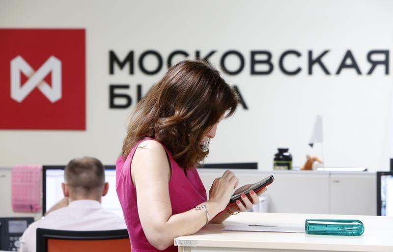 © Reuters.  Рынок акций  РФ закрылся ростом, Индекс МосБиржи прибавил 0,42%