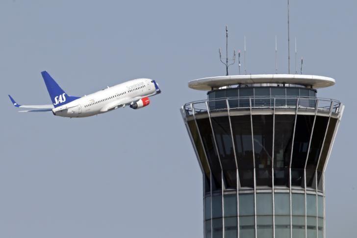 © Reuters.  Fluggesellschaft SAS einigt sich mit Piloten - Streik abgewendet