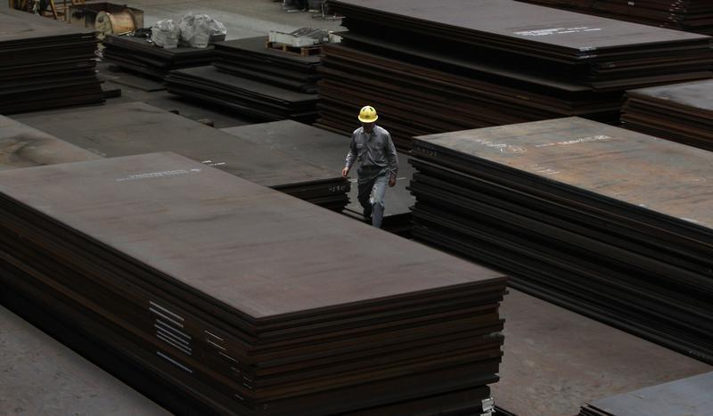 © Reuters. Futuros do minério de ferro têm valorização de 3,18% em Dalian