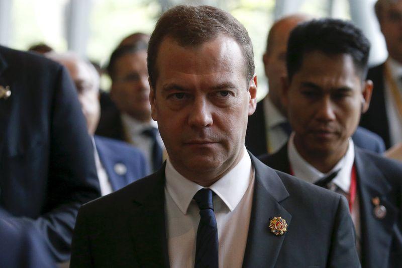 © Reuters.  Медведев: необходимо выполнять все соцобязательства в ходе исполнения федерального бюджета