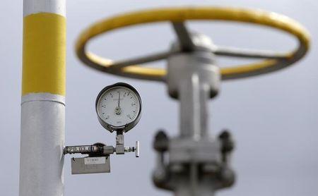 Kontrakty terminowe na gaz ziemny wzrosły