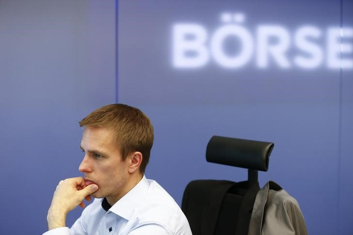 © Reuters.  Germany shares lower at close of trade; DAX down 0.37%