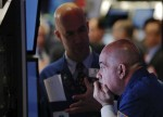 Stocks - Wall Street Rebounds to End Flat After Rate Cut