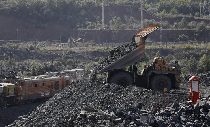 © Reuters.  Em Dalian, futuros do minério de ferro tem valorização de 1,82%