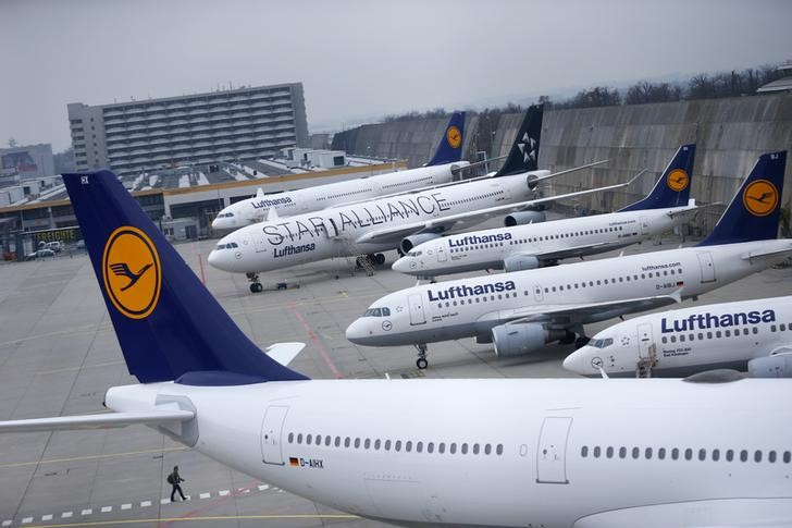 Gewerkschaft UFO weitet Streik bei Lufthansa am Sonntag aus Von Reuter