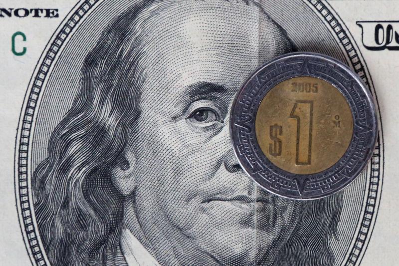 © Reuters.  Cotações das moedas latino-americanas frente ao dólar