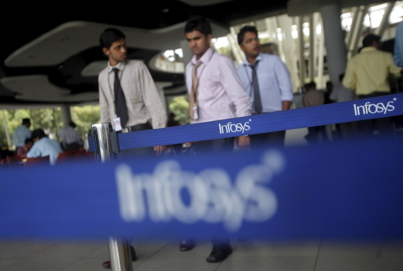 Indian shares end higher on Infosys, Bharti Airtel boost