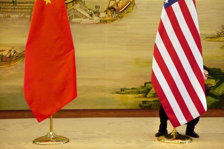 © Reuters.  Chine-USA: Du nouveau dans 3 à 4 semaines selon Trump