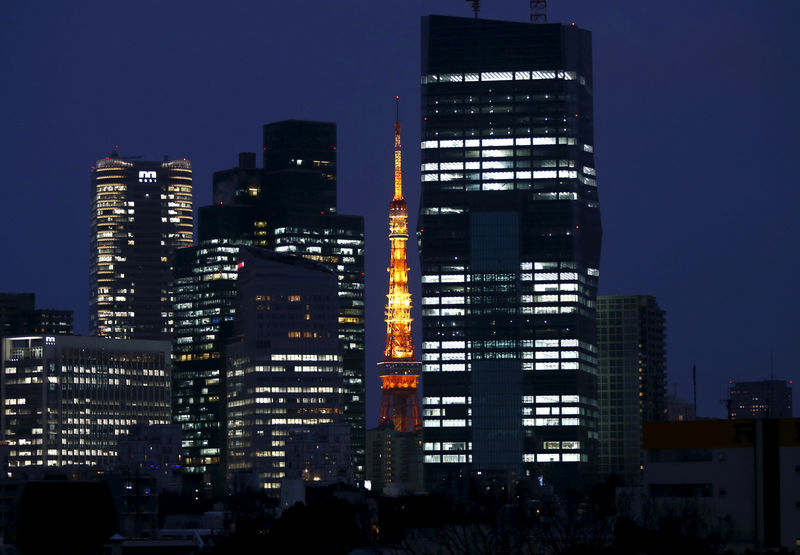 © Reuters.  Japan's Consumer Prices Fall at Slower Pace for Time Being