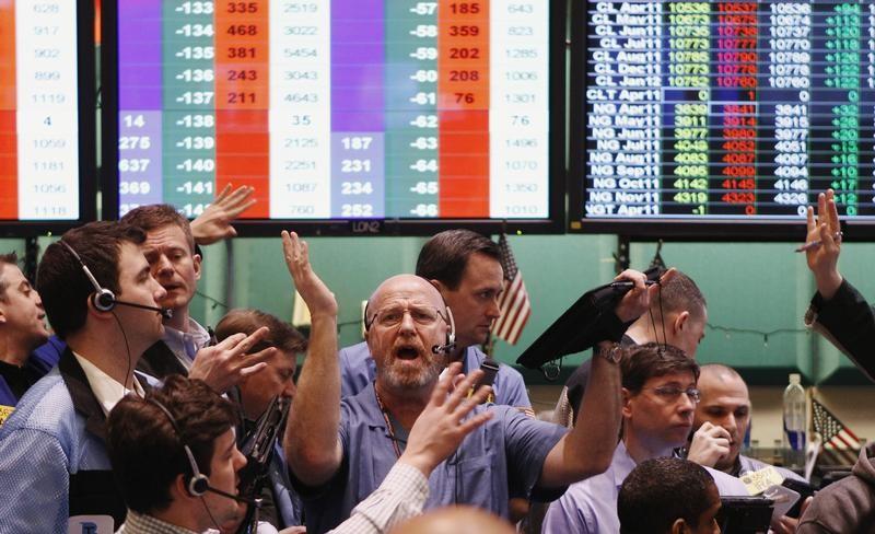 9日米国株式市場はほぼ横ばい、エネルギー・金融株は上昇