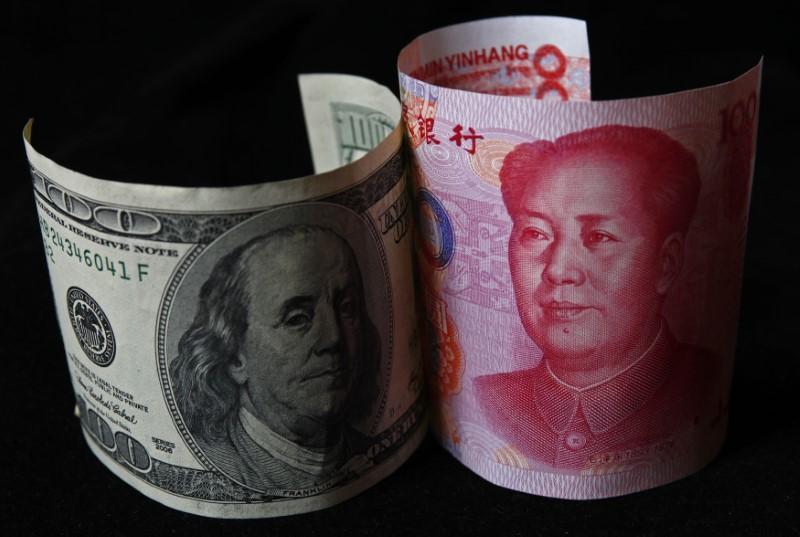 © Reuters.  Yuan parity