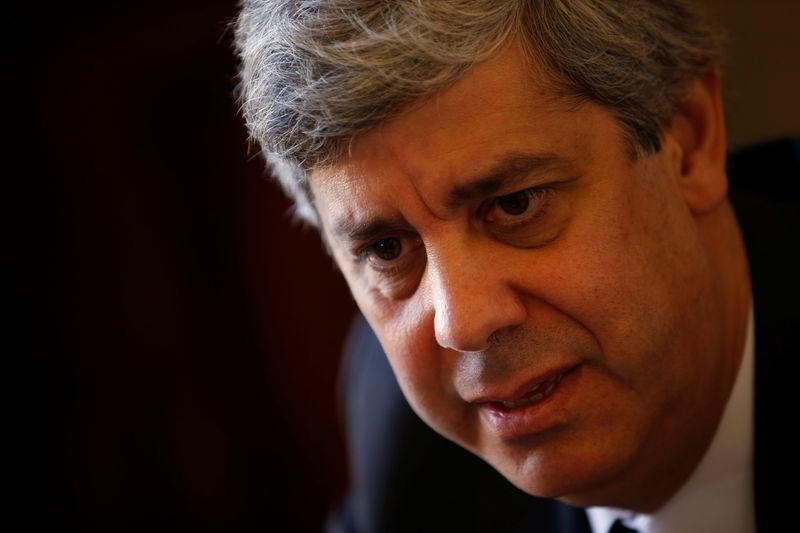 © Reuters.  Eurogrupo não vai alterar política com Mário Centeno-Dijsselbloem