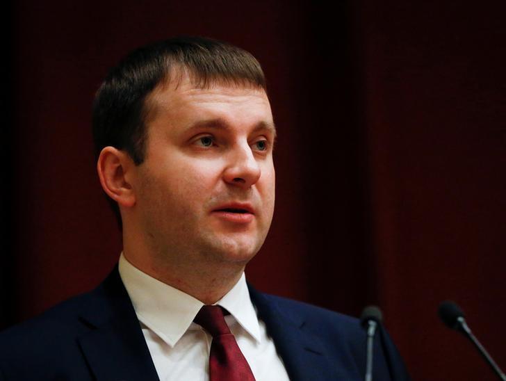 © Reuters.  Максим Орешкин пиризвал российский рынок рассчитывать только на внутренние факторы роста