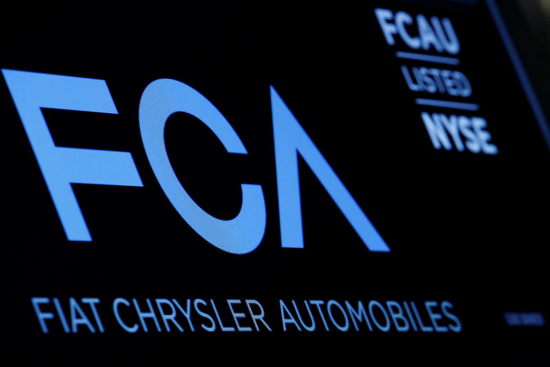 © Reuters.  Fiat Chrуsler Shrugs Off Recall, Shares Move Higher