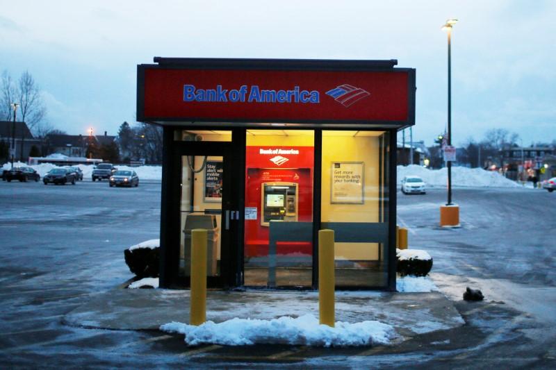 Bank of America Rises 3.01%