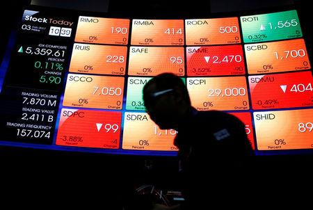 Indonésia - Ações fecharam o pregão em alta e o Índice IDX Composite avançou 0,24%