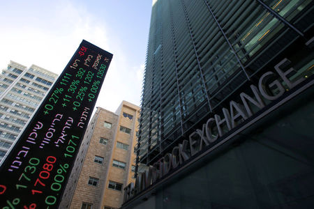 Israel shares lower at close of trade; TA 35 down 0.55%