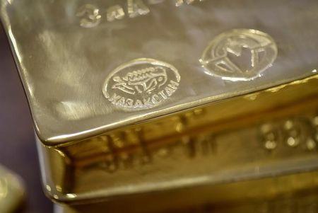 החוזים העתידיים על הזהב נחלשים במהלך המסחר באסיה