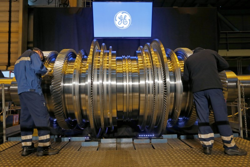 © Reuters. General Electric Stock Rises 3%