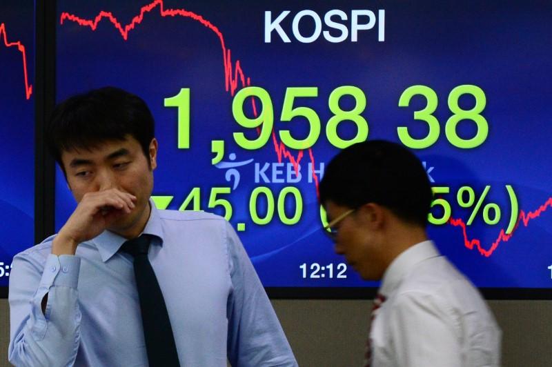 © Reuters.  Bolsa de Seul: Kospi abre em leve alta de 0,03%
