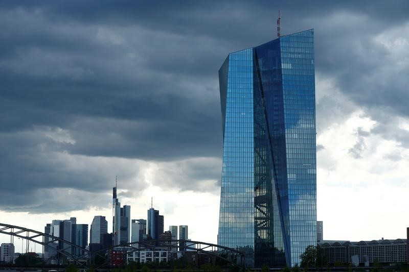 © Reuters.  ECB Inflation Risks Mount as Prices Drop More Than Forecast