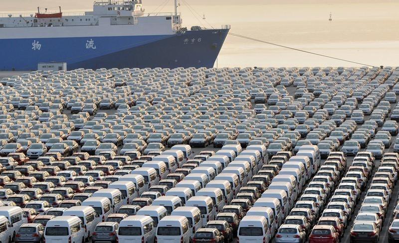 Penjualan Mobil Bulan Agustus di Cina Meningkat 11,6%