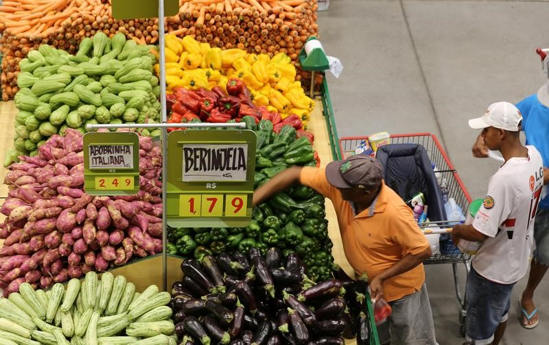 Brazil's inflation likelу eases to 4.7 percent in mid-March