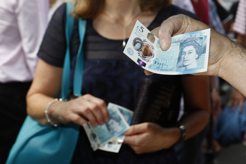 Sterling hits 3-week highs on sharp rise in UK inflation