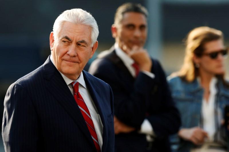 © Reuters.  Путин рассказал Тиллерсону, в чем видит причины ухудшения отношений с США