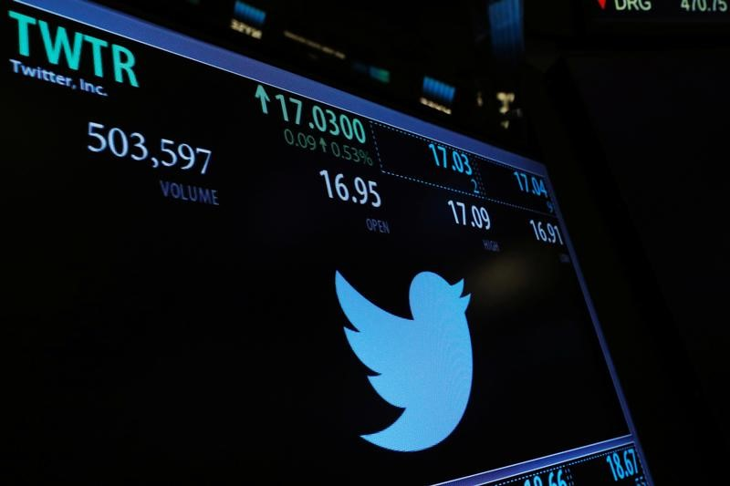 Twitter shares tumble after user growth disappoints
