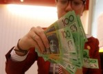 Forex - Aussie gains in Asian trade after NAB surveys, yen dips slightly