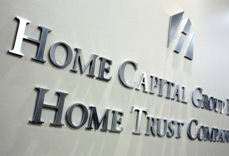 © Reuters.  Home Capital gets new funding to replace Berkshire credit line