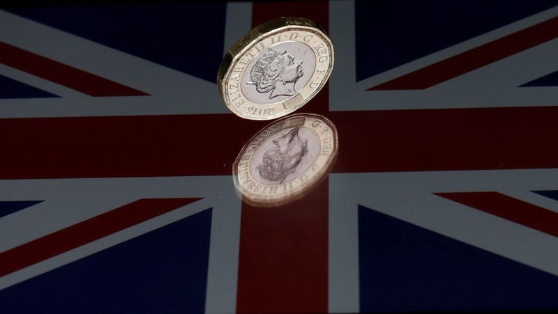 © Reuters.  Sterling hits day's highs on UK factory data