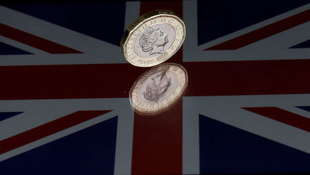 Forex - Sterling Drops as UK Growth Slows Sharply on Brexit Worries